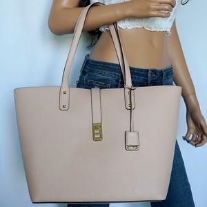 Michael Kors Karson LG Leather Tote Pastel Pink